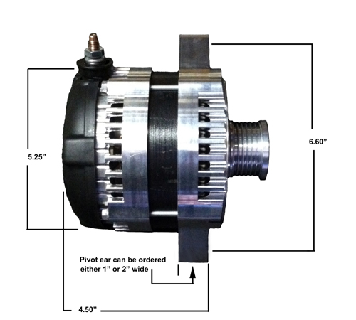 10150DimensionsT mega amp gm high output alternator  at mifinder.co