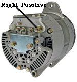 Right-hand Positive Terminal
