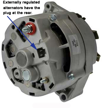 GM Externally Regulated Alternator