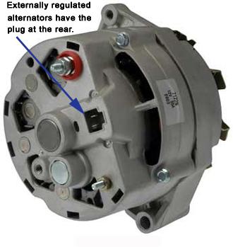 ac delco remy high output alternator Delco Alternator Wiring Diagram gm externally regulated alternator