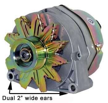 Dual Spool Mounting Ears