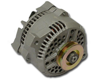 3G Large Case High Output Alternator with Straight Ear Mount