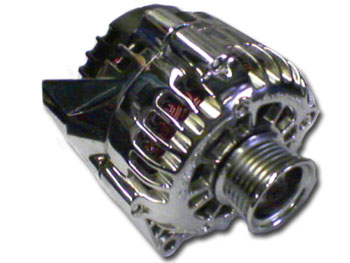 Chrome alternator
