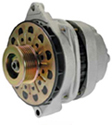 Late Model Large Case High Output Alternator (external fan)-high output alternator,Chevy,GM high amp,CS144,automotive,300 amp,upgrade,200 amp,AC Delco,1 wire