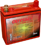 Odyssey� PC680 Battery-Odyssey battery,atv,pwc,personal watercraft,seadoo,harley davidson,hot rod,PC680,PC 680,PC680MJ