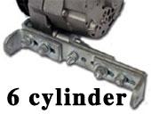 6 Cylinder Flathead conversion bracket