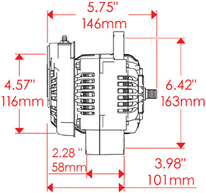 Rebuild alternator,upgrade alternator,high output,custom rebuild,high output rebuild